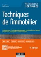 Techniques de l'immobilier | Bettini, Serge