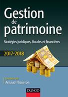 Gestion de patrimoine - 2017-2018 | Thauvron, Arnaud