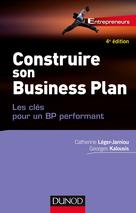 Construire son Business Plan | Léger-Jarniou, Catherine
