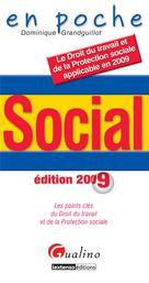 Social édition 2009    Grandguillot, Dominique
