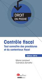 Contrôle fiscal 2016 | Lambert, Marie