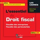 L'essentiel du droit fiscal 2016   Grandguillot, Francis