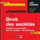 L'essentiel du droit des sociétés 2016 | Grandguillot, Francis