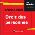 L'essentiel du droit des personnes 2016-2017 | Renault-Brahinsky, Corinne