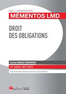 Droit des obligations | Renault-Brahinsky, Corinne