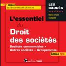 L'essentiel du droit des sociétés | Grandguillot, Francis