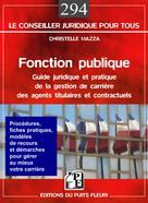 Fonction publique |  Christelle, Mazza