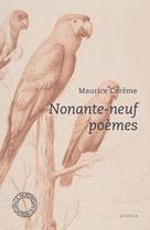 Nonante-neuf poèmes | Carême, Maurice
