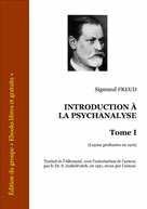 Introduction à la psychanalyse 1 | Freud, Sigmund