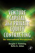 Venture Capital and Private Equity Contracting | Cumming, Douglas J.