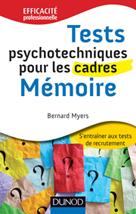 Tests psychotechniques pour les cadres  | Myers, Bernard