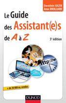 Le guide des assistantes de A à Z  | Bazin, Dorothée