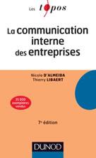 La communication interne des entreprises | D'Almeida, Nicole