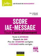 Score IAE-Message - Tout l'entraînement | Speller, Marie-Virginie