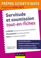 Servitude et Soumission tout-en-fiches - Prépas scientifiques 2016-2017 | Cremona, Nicolas
