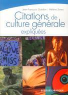 Citations de culture générale expliquées  | Guédon, Jean-Francois