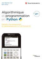Algorithmique et programmation en Python | Civet, Jean-Baptiste