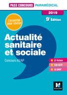 Pass'Concours Actualité sanitaire et sociale - AS-AP 2019 - Révision et entraînement | Moignau, Anne-Laure
