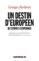 Un destin européen | Berthoin, Georges