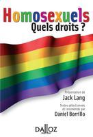 Homosexuels  | Borrillo, Daniel