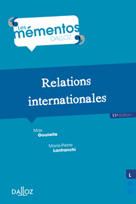 Relations internationales   Gounelle, Max