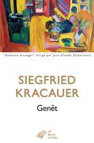 Genêt   Kracauer, Siegfried