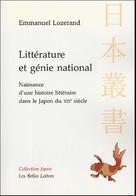 Littérature et génie national | Lozerand, Emmanuel