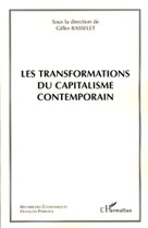 Les transformations du capitalisme contemporain | , Collectif