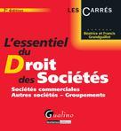 L'essentiel du droit des sociétés | Grandguillot, Béatrice