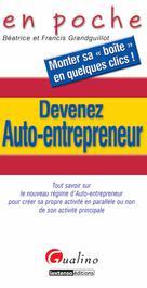 Devenez auto-entrepreneur  | Grandguillot, Béatrice