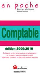 Comptable édition 2009-2010 | Grandguillot, Béatrice
