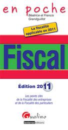 Fiscal édition 2011  | Grandguillot, Dominique