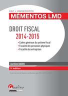Mémento LMD - Droit fiscal 2014-2015  | Baudu, Aurélien