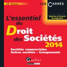 L'essentiel du droit des sociétés 2014 | Grandguillot, Béatrice