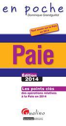 Paie - Edition 2014 | Grandguillot, Dominique