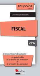 Fiscal 2016 | Grandguillot, Francis