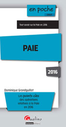 Paie 2016 | Grandguillot, Dominique
