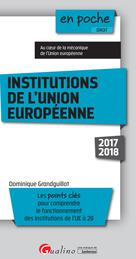 Institutions de l'Union européenne | Grandguillot, Dominique