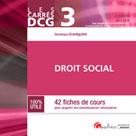 DCG 3 - Droit social | Grandguillot, Dominique