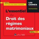 L'essentiel du droit des régimes matrimoniaux | Renault-Brahinsky, Corinne