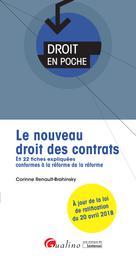 Le nouveau droit des contrats | Renault-Brahinsky, Corinne