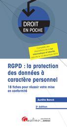 RGPD : la protection des données à caractère personnel | Banck, Aurélie