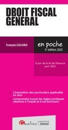 Droit fiscal général | Goliard, François