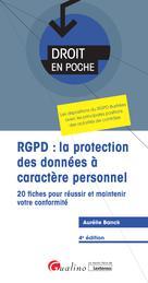 RGPD : la protection des données à caractère personnel   Banck, Aurélie