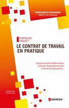 Le contrat de travail en pratique | Taquet, François