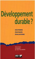 Développement durable? | Martin, Jean-Yves