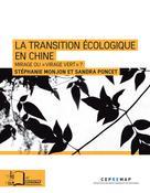 La transition écologique en Chine | Monjon, Stéphanie