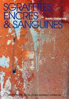 Sgraffites, encres et sanguines  | Chénetier, Marc