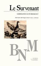 Le Survenant   Guèvremont, Germaine
