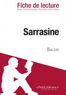 Sarrasine de Balzac (Fiche de lecture)   , lePetitLitteraire.fr